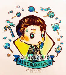 [Detroit : Become human] CONNOR  by CLOVERTALE