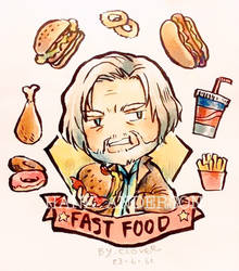 [Detroit : Become human] Hank Anderson by CLOVERTALE