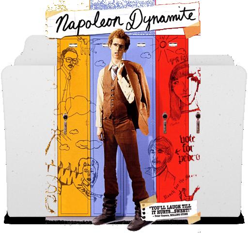Napoleon Dynamite Folder Icon By Darthiraecorpus On Deviantart