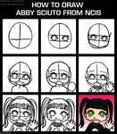 NCIS- How to draw Abby