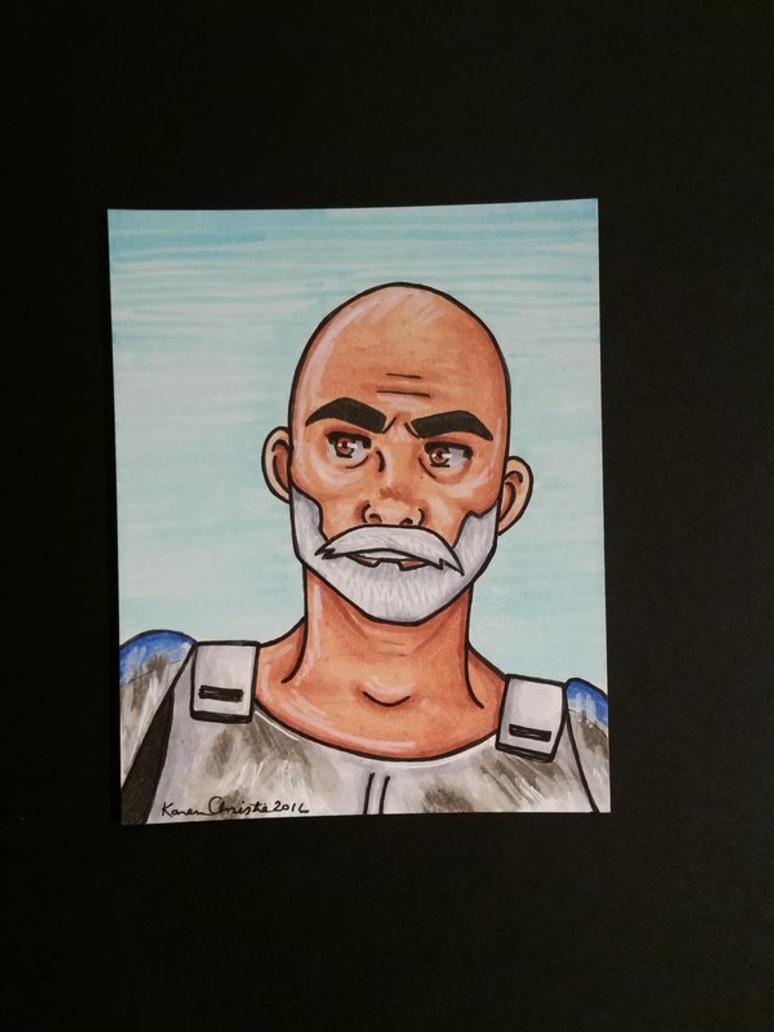 Captain Rex by ryuuri