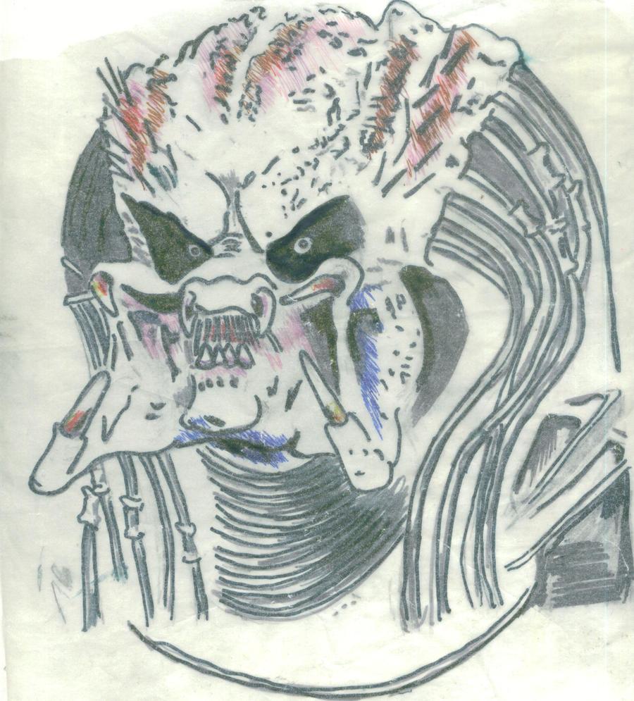 predator face by blind woman by Cheetah16 on DeviantArt