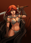 [Commission] Red Sonja