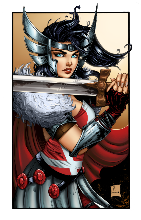 Asgardians - Sif by ColletteTurner