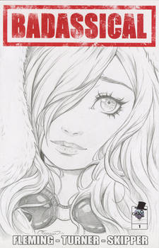 Susan Sketch Cover (Issue Two Kickstarter)