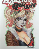 Bombshell Harley Sketch Cover Commission by ColletteTurner