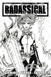 Badassical #4 Cover E Inks