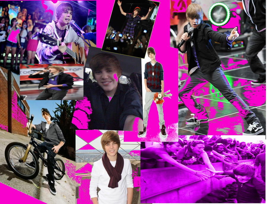 justin bieber collage black and white. Justin+ieber+collages+