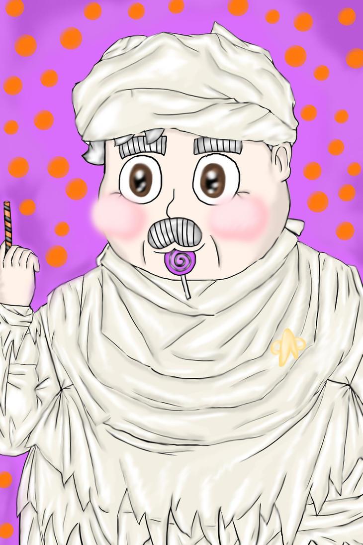 Mummy Scotty by princessofvernon