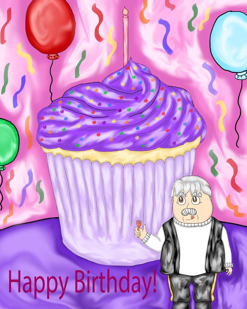 Birthday Cupcake by princessofvernon