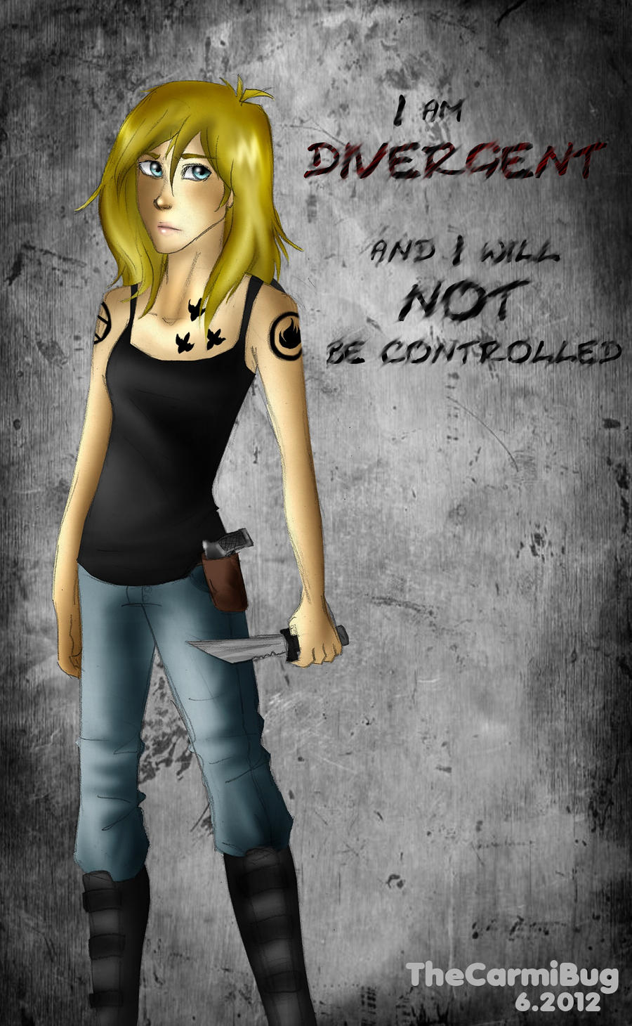 I will NOT be controlled by TheCarmiBug