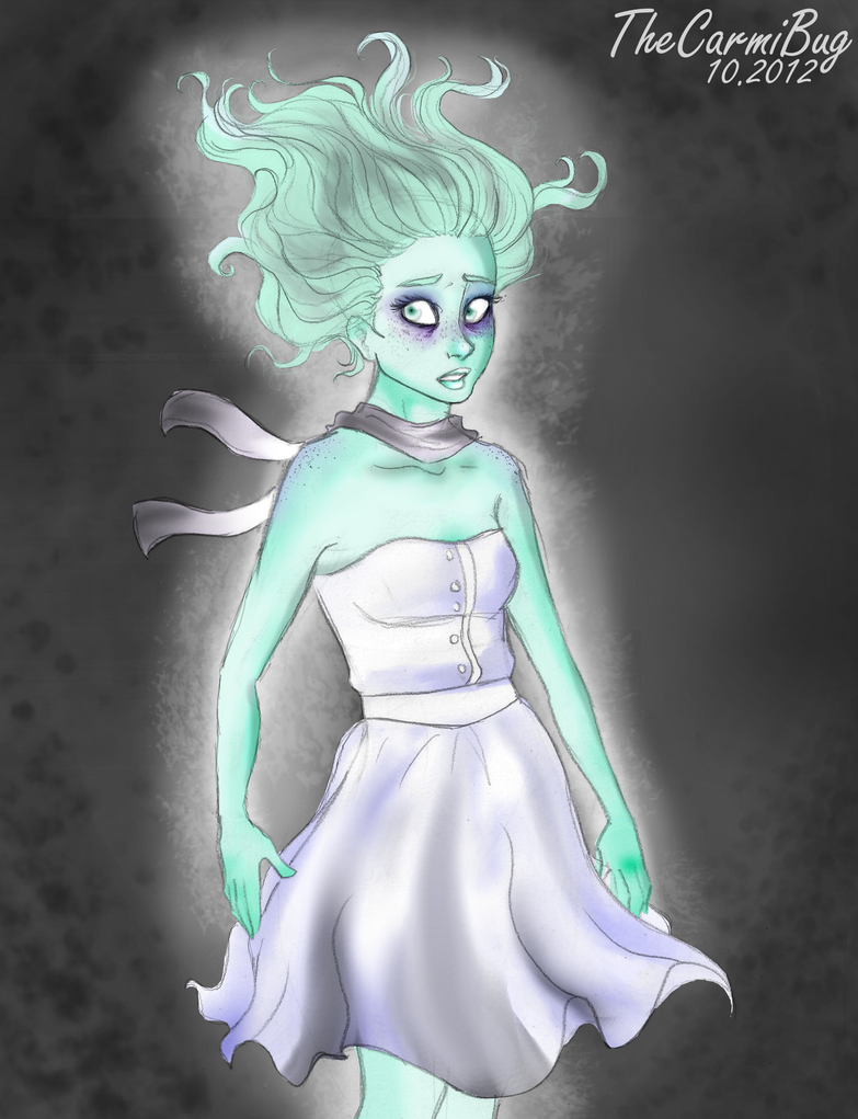 Ellie, the Ghost Girl by TheCarmiBug