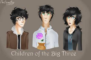 Children of the Big Three by TheCarmiBug