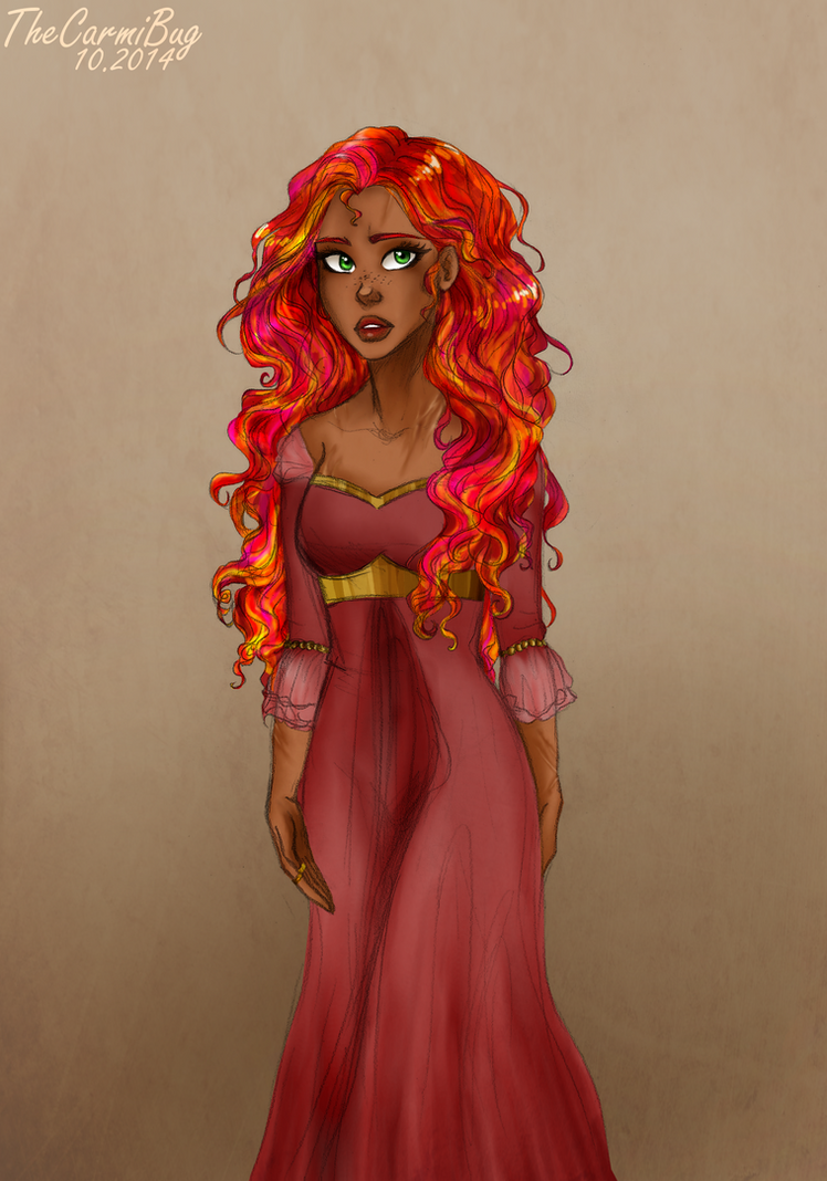 The Beautiful Lady Fire by TheCarmiBug