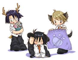 Sirius needs a bath by Danime-chan