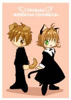 wanko and nyanko by Danime-chan