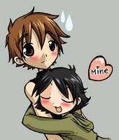 Syaoran is mine by Danime-chan