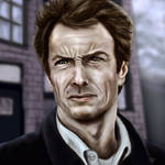 Clint Eastwood by lberry1976