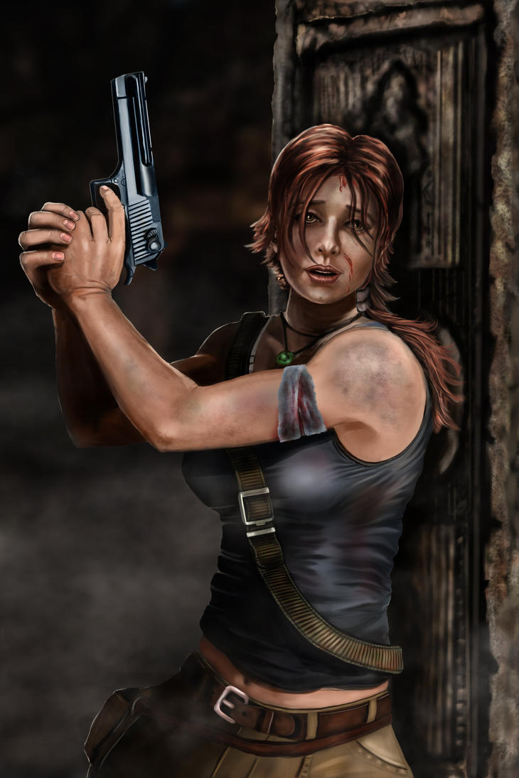 Tomb Raider CLose Up by lberry1976