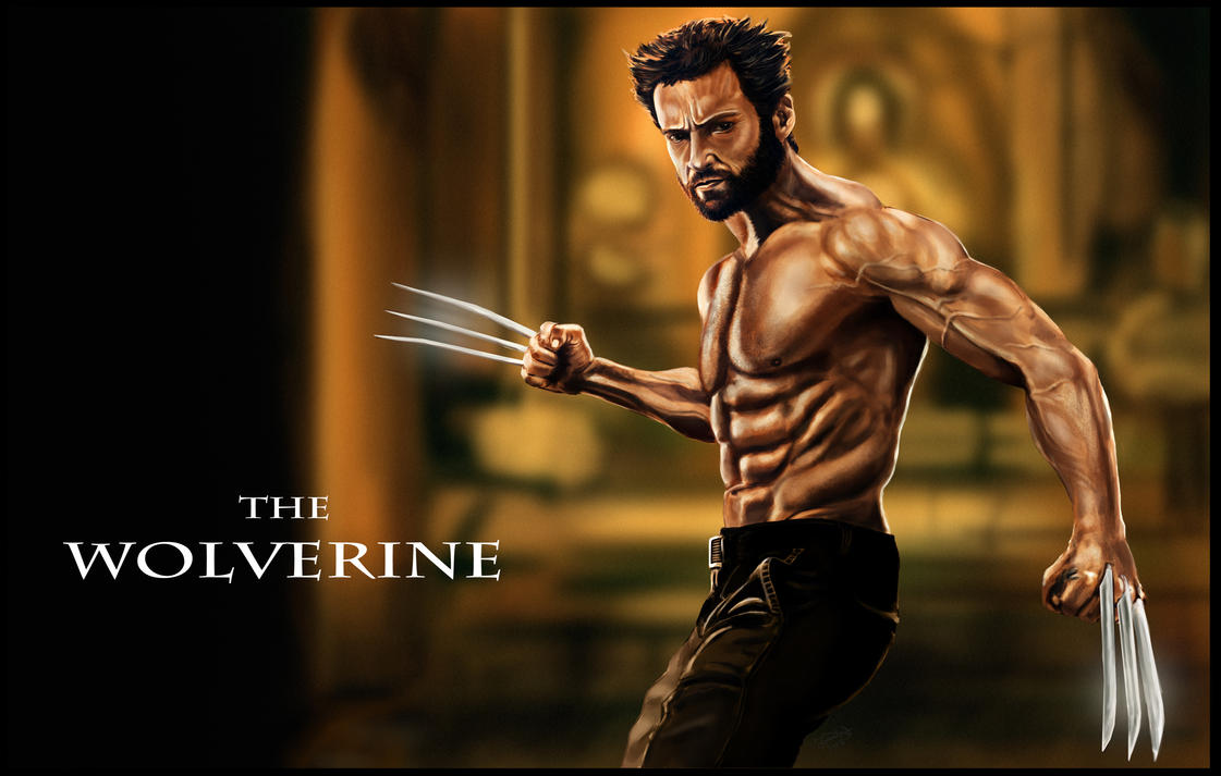 Wolverine (Hugh Jackman) by lberry1976