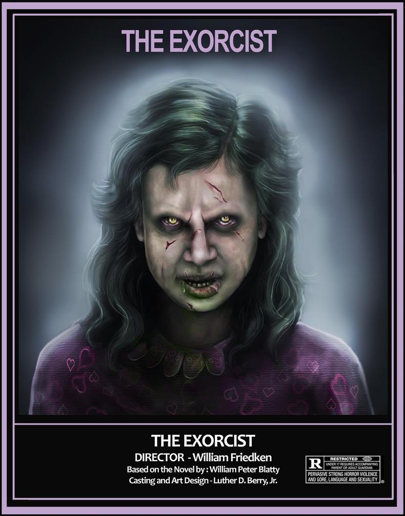 Regan 2014 Exorcist Demon Concept by lberry1976