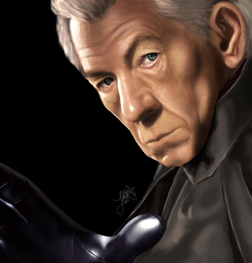 Ian McKellen (Magneto) by lberry1976