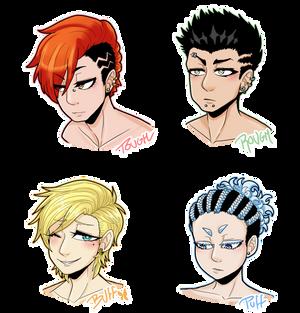 [MSnD] Alternate hairstyles