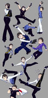 [Ososan] Figure Skater Kara by SoloAzume