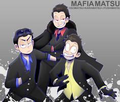 [Ososan] Mafia primary triooo by SoloAzume