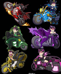 [Ososan] Speed Demons by SoloAzume