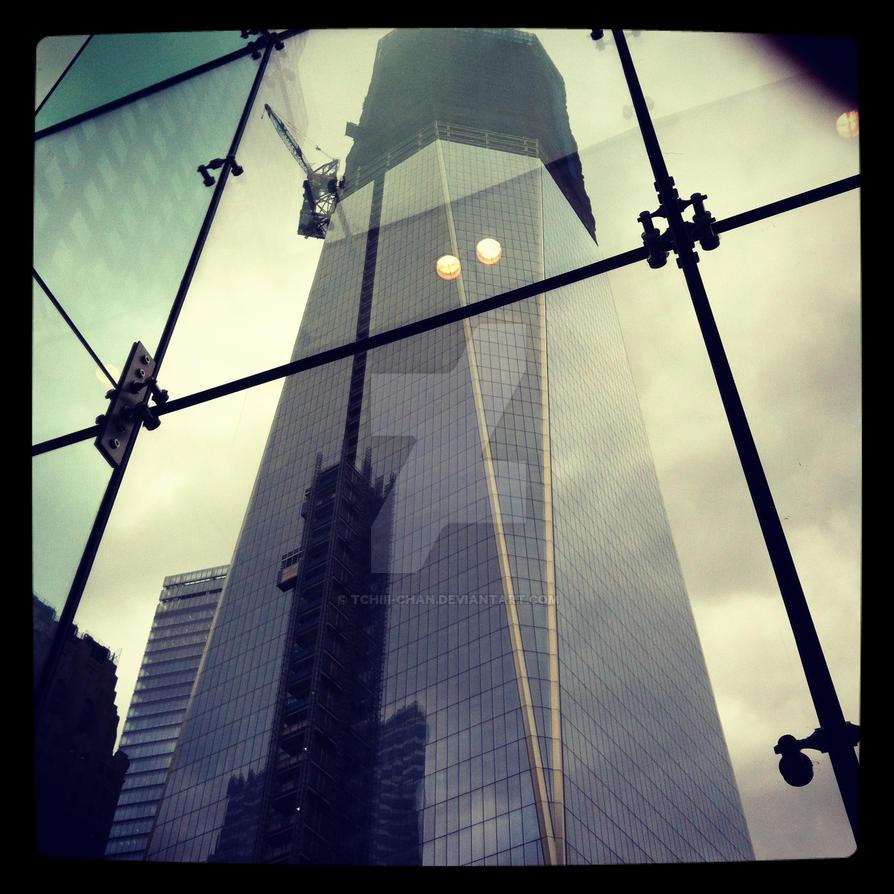 New York City, Ground Zero by Tchiii-chan