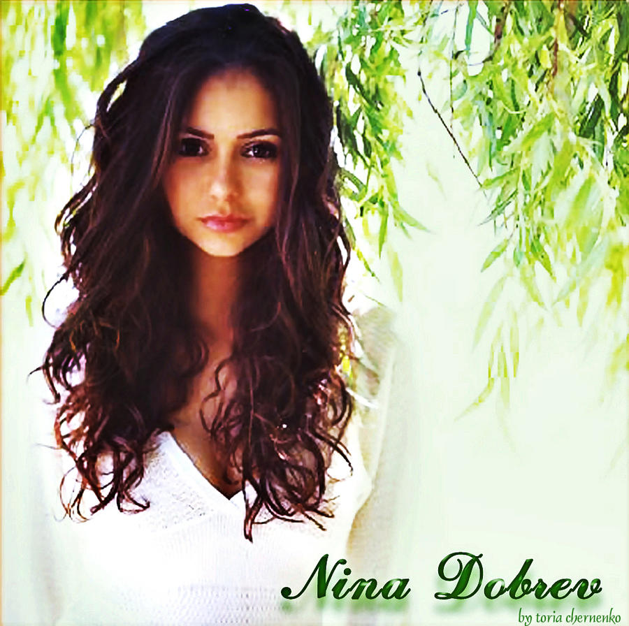 Nina Dobrev Wallpaper: Nina Dobrev By ToriaChernenko On DeviantArt