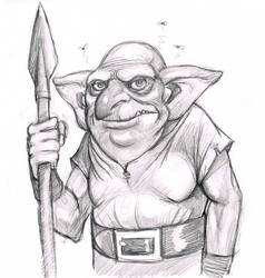 Goblin Warmup by MythAdvocate