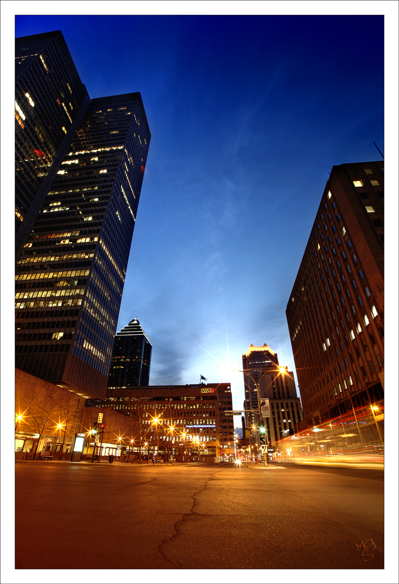 Montreal at Night 52 by Pathethic
