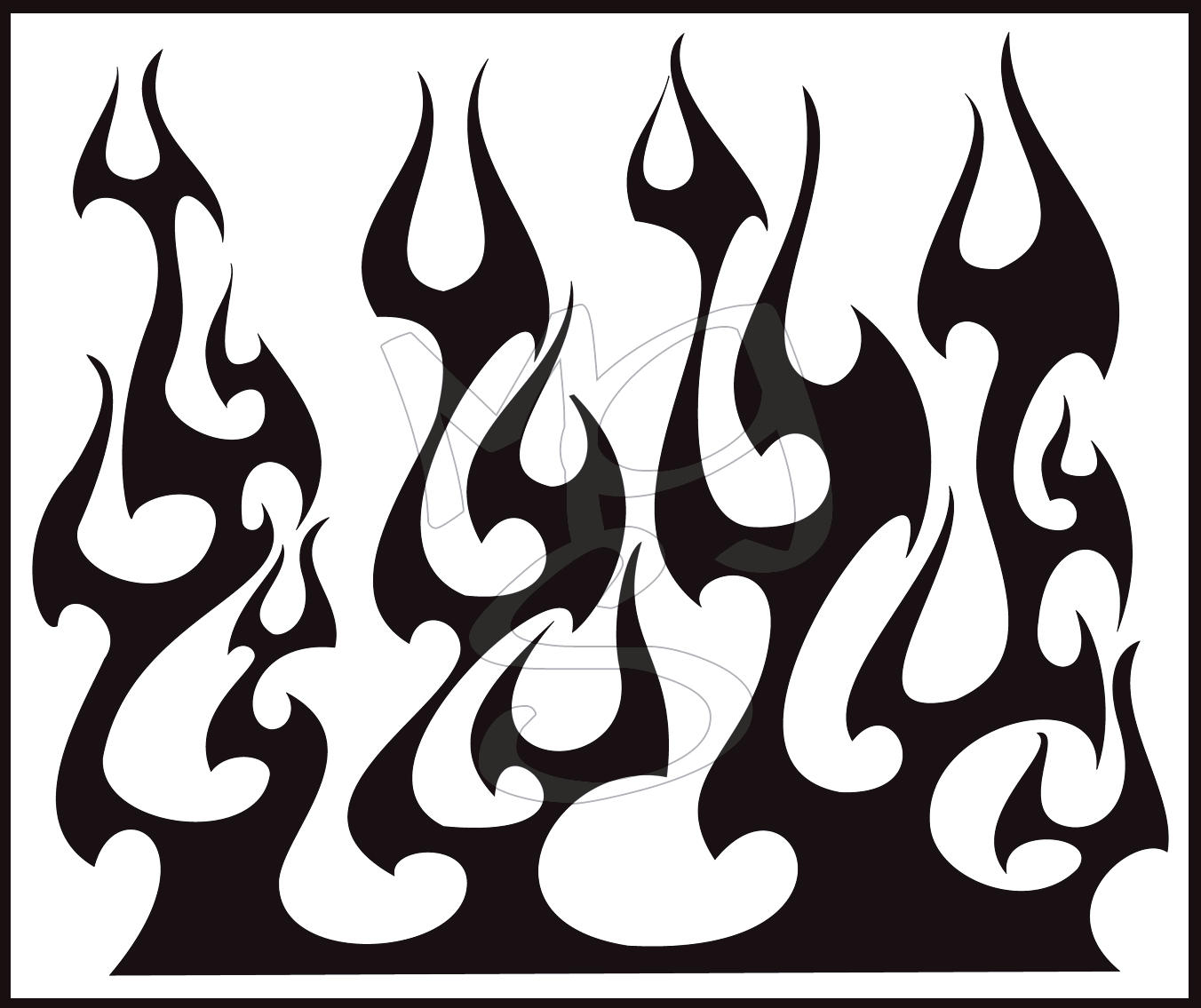 Flames 1 by pathethic on deviantart for Tribal flames tattoo