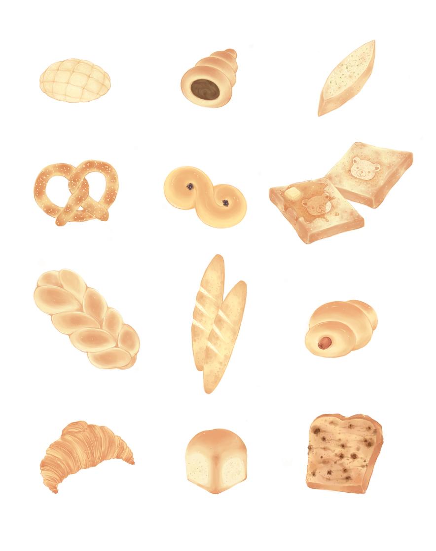 Bread by Kiyorin