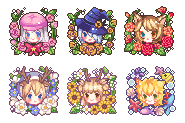 Wreath Icon commissions by Kiyorin