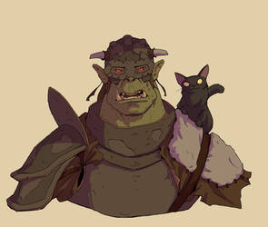 Orc And Cat