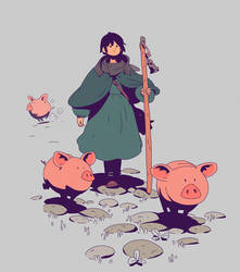 Pigs by Varguy