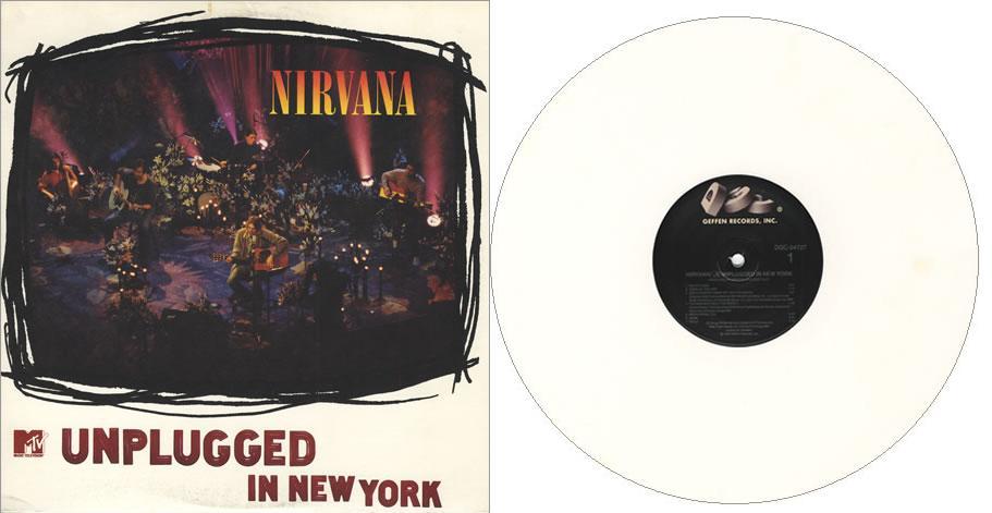Nirvana unplugged vinyl : Zapatero conforama