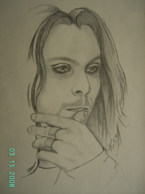 Ville Valo8 by crazythess