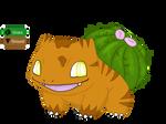 Bulbasaur Grass/Ground Type Redesign