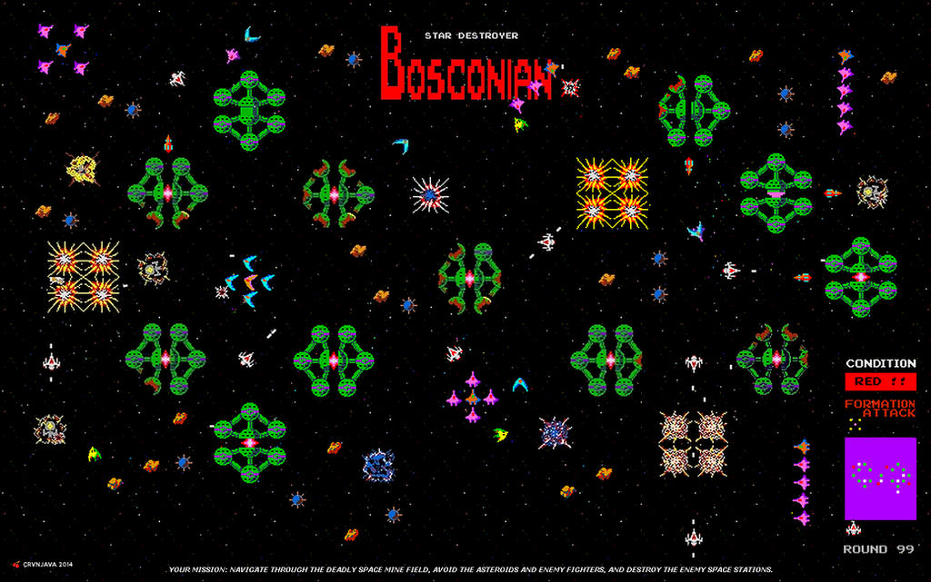 Bosconian - The Mission
