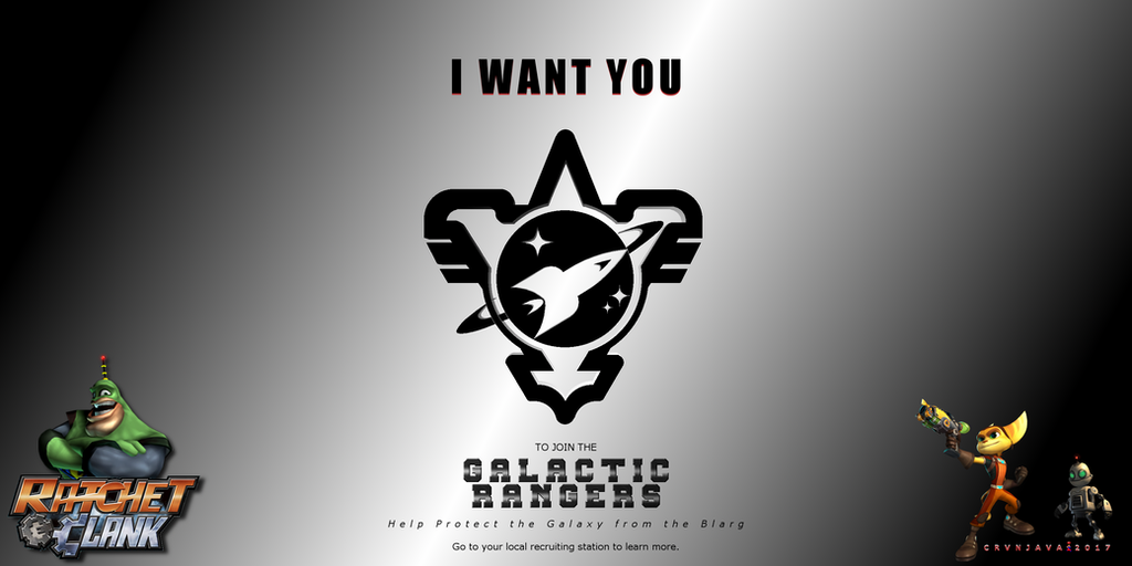 Ratchet And Clank Galactic Rangers Recruiting by crvnjava67