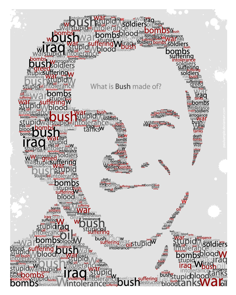 What is Bush made of?