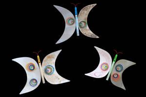 Plastic Butterflies by ZephyraMilie
