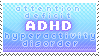 ADHD Stamp
