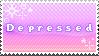Depressed Stamp