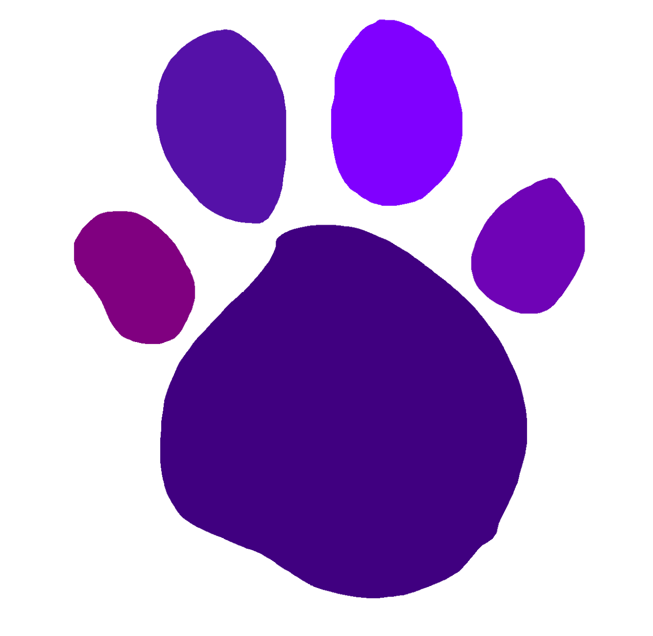 Purple S Paw Print From Growing Up With Purple By Brandontu1998 On Deviantart Paw print art, cat puppy dachshund paw printing, claws transparent background png clipart. paw print from growing up with purple