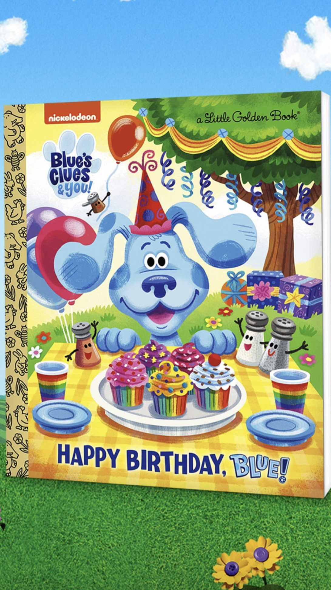 Blue S Clues And You Golden Book By Brandontu1998 On Deviantart